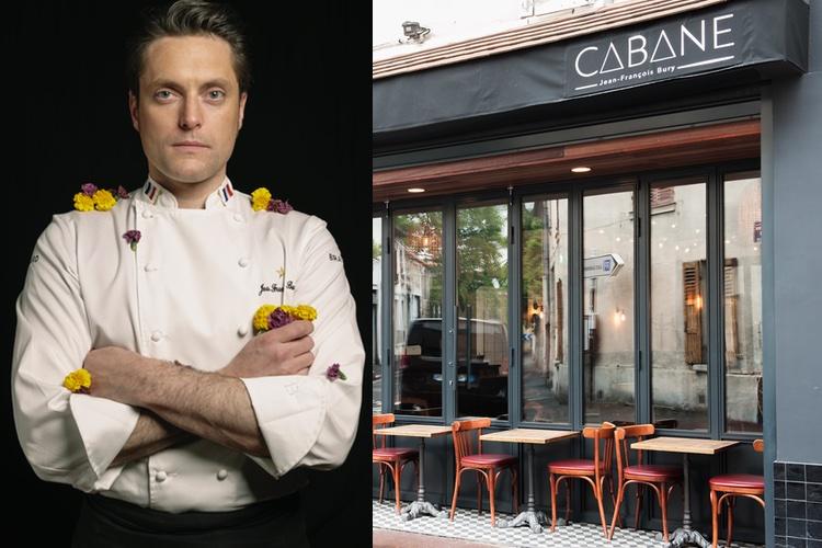 Cabane, le premier restaurant de Jean-Franç