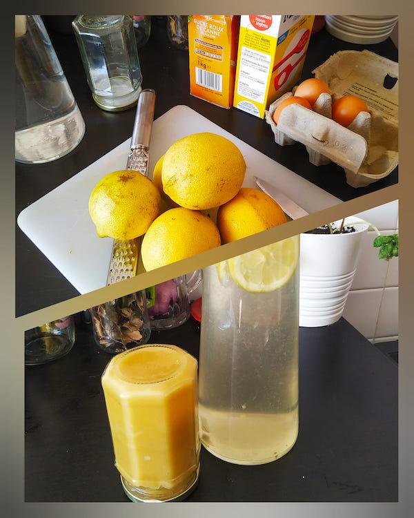 Lemon curd ©Nathalie Zema.