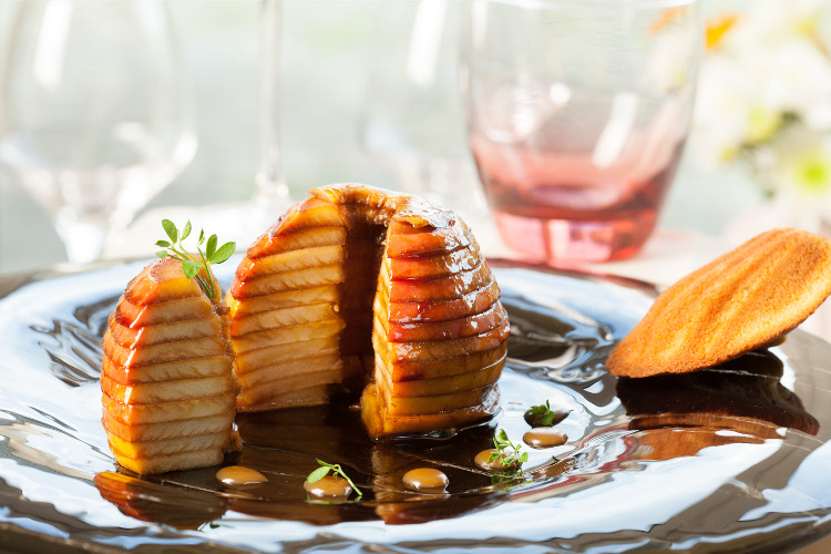 RECETTE : Pomme Ariane confite au sucre mucovado - 7detable.com