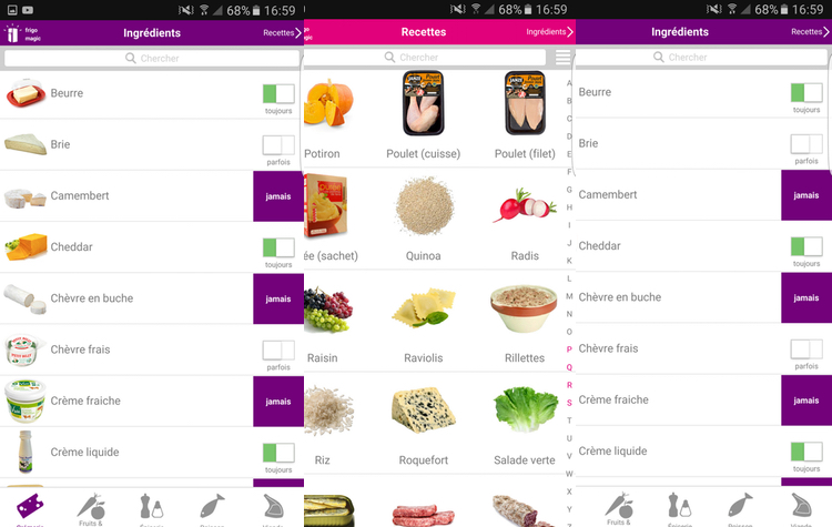frigo magic - 5 applications pour mieux consommer