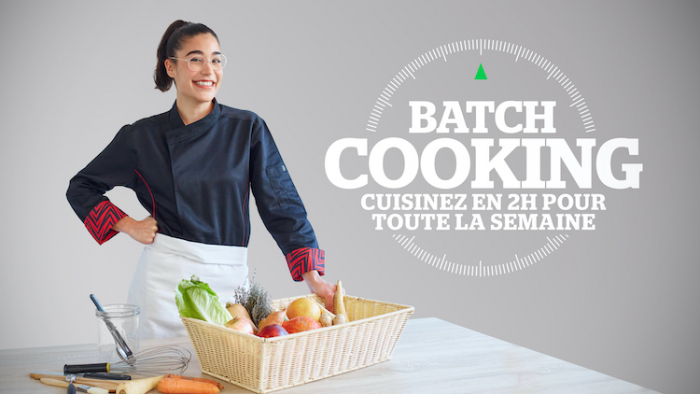 Justine Piluso anime sa propre émission sur Téva : Batch cooking !