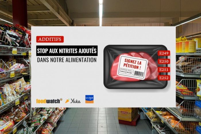 Pétition : Yuka et Foodwatch exigent l'interdiction des nitrites dans l'alimentation